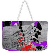 Bull Fight Matador Charging Bull Collage Us-mexico Mexico Border Town Nogales Sonora Mexico   1978-2 Weekender Tote Bag
