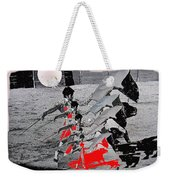 Bull Fight Matador Charging Bull Us Mexico Border Town Nogales Sonora Mexico Collage 1978-2012 Weekender Tote Bag