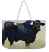 Bull Weekender Tote Bag by Frances Marino