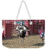 Bull In The Air Weekender Tote Bag
