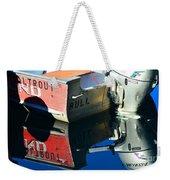 Bull In The Water Weekender Tote Bag