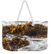 Bull Kelp Durvillaea Antarctica Blades In Surf Weekender Tote Bag