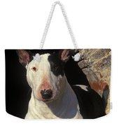 Bull Terrier Dog Weekender Tote Bag