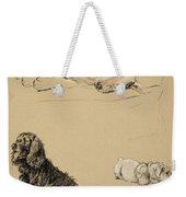Bull-terrier, Spaniel And Sealyhams Weekender Tote Bag