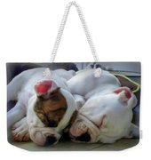 Bulldog Bliss Weekender Tote Bag