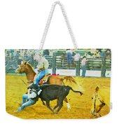 Bulldoggin Cowboys Weekender Tote Bag
