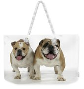 Bulldogs, Male And Female Weekender Tote Bag