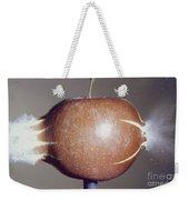 Bullet Piercing An Apple Weekender Tote Bag by Gary S. Settles