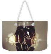 Bullet Piercing Glass Of Soda Weekender Tote Bag