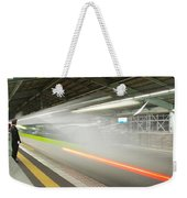 Bullet Train Weekender Tote Bag