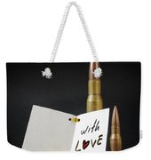 Bullets For You Weekender Tote Bag