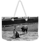 Bullfighter And The Lady Homage 1951 Bullfight Nogales Sonora Mexico Weekender Tote Bag