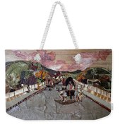 Bullock Cart On Bridge Weekender Tote Bag