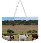 Bulls And Cow Weekender Tote Bag