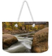 Bulls Bridge Autumn Square Weekender Tote Bag