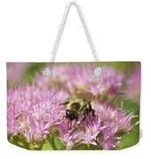 Bumble Bee On A Century Plant Weekender Tote Bag