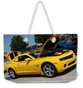 Bumble Bee Side View 7904 Weekender Tote Bag