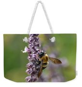 Bumble On Sage Weekender Tote Bag