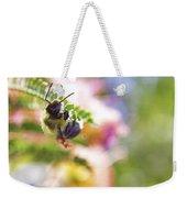 Bumblebee Disco Weekender Tote Bag