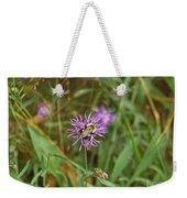 Bumblebee On Flower Weekender Tote Bag