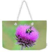 Bumblebee On Thistle 2013 Weekender Tote Bag