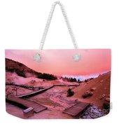 Bumpass Hell Sunset Weekender Tote Bag