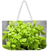 Bunch Of Fresh Oregano Weekender Tote Bag