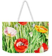 Bunch Of Poppies II Weekender Tote Bag
