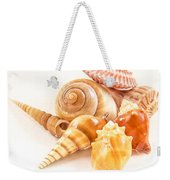 Bunch Of Shells Weekender Tote Bag by Jean Noren