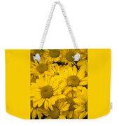 Bunch Of Yellow Daisies Weekender Tote Bag