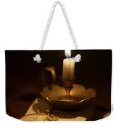 Bundle Of Letters By Candle Light Weekender Tote Bag