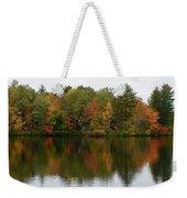 Bunganut Lake Foliage 4 Weekender Tote Bag