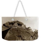 Bunker Above The Dak Poko River Near Dak To Kontum Province Vietnam 1968 Weekender Tote Bag