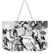 Bunker Hill: Cartoon, 1775 Weekender Tote Bag