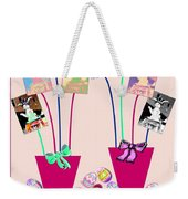 Bunnies Sticking Around For Easter Weekender Tote Bag