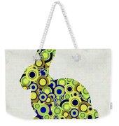 Bunny - Animal Art Weekender Tote Bag by Anastasiya Malakhova