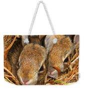 Bunny Babies Weekender Tote Bag
