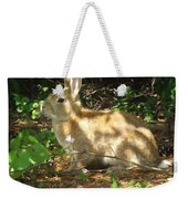 Bunny In The Wild 2 Weekender Tote Bag