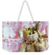 Bunny Rose Weekender Tote Bag