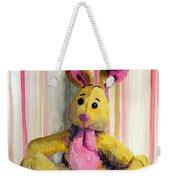 Bunny With Pink Ears Weekender Tote Bag