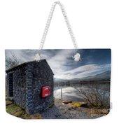 Buoy At Lake Weekender Tote Bag by Adrian Evans