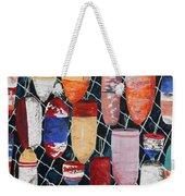 Buoy Nautical Vintage Art Weekender Tote Bag