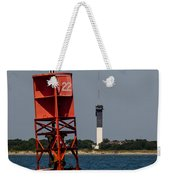 Buoy To Lighthouse Weekender Tote Bag