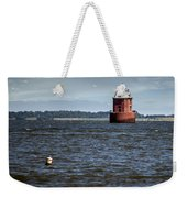 Buoy What A Lighthouse Weekender Tote Bag