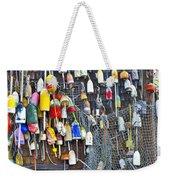 Buoys On Wall - Cape Neddick - Maine Weekender Tote Bag