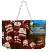 Buoys With A View      Weekender Tote Bag