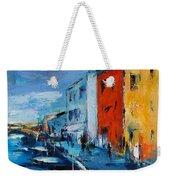 Burano Canal - Venice Weekender Tote Bag
