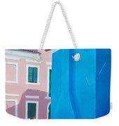 Burano Venice Street Scene Weekender Tote Bag