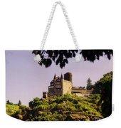 Burg Katze Castle On The Rhine Weekender Tote Bag