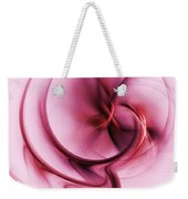 Burgandy Silk Weekender Tote Bag